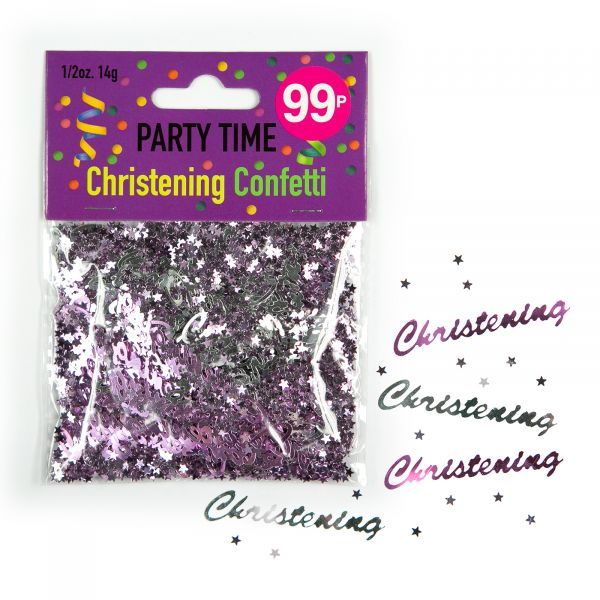 Confetti Christening Girl