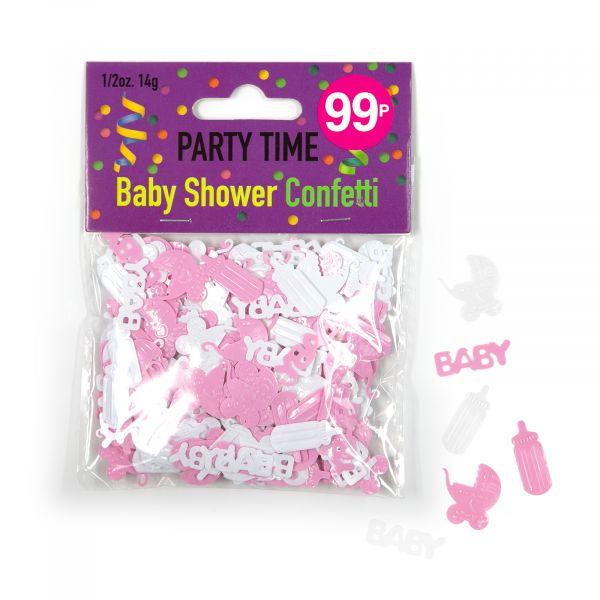 Confetti Baby Shower Girl