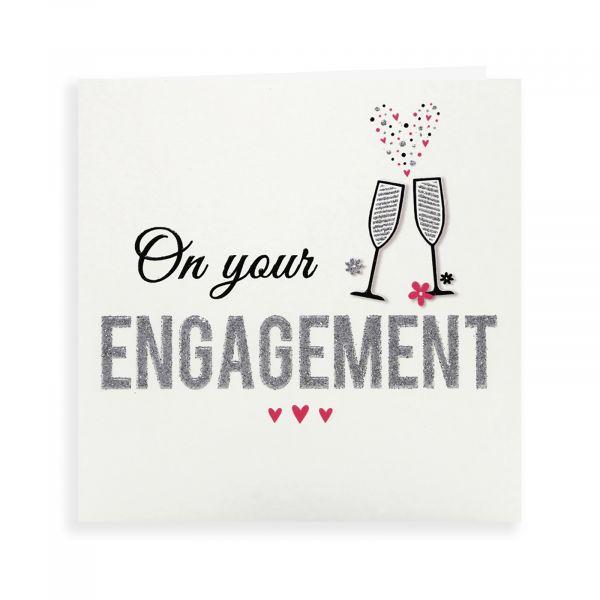 Engagement Card, Glasses