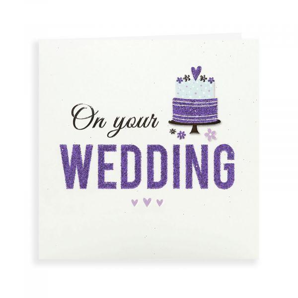 Wedding Card, Cake, 1