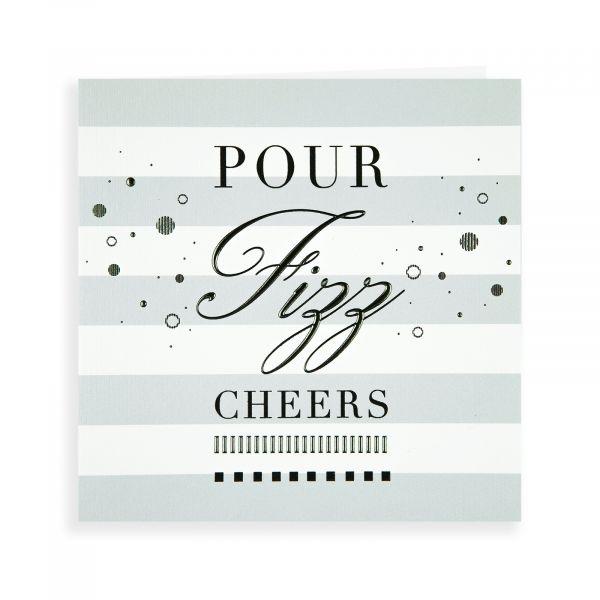 Birthday Card Open, Pop Fizz Cheers