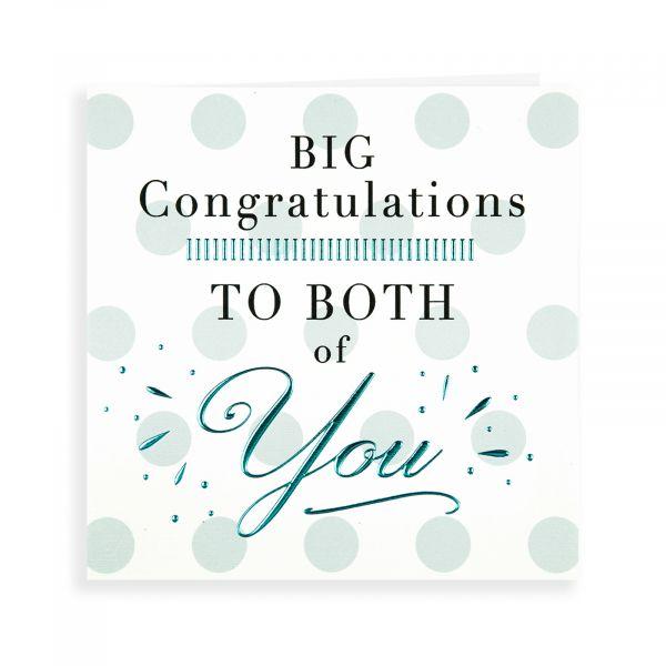 Wedding Card, Big Congratulations to Both of You