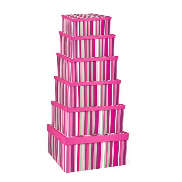 Female Stripes Gift Boxes