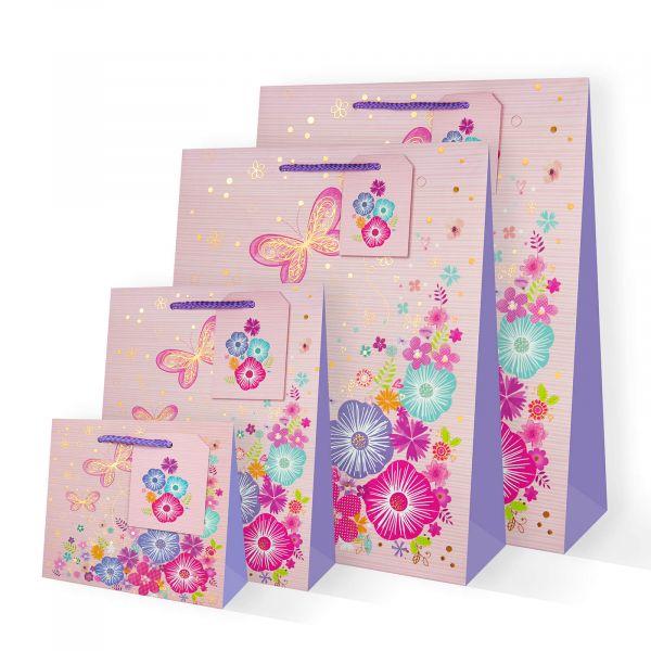 Flower Butterfly Gift Bag