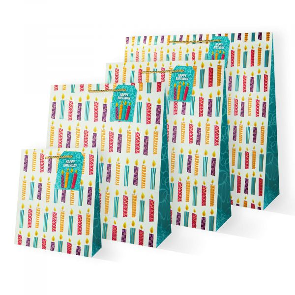 Candles Gift Bags